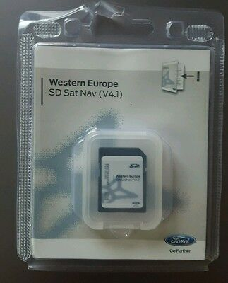 Ford Sony Mfd Non Touch NavigationSat Nav Sd Card Map Focus C-Max Transit New