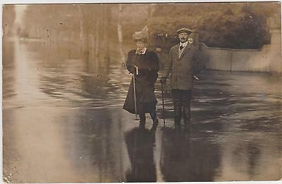 Rp Maidenhead Flood, Real Photo  Posted 1907