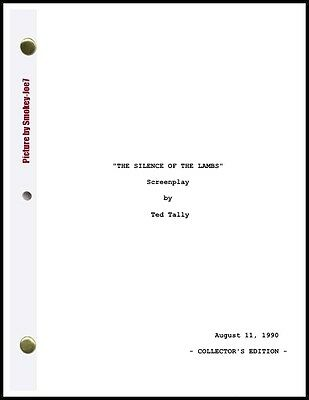 The Silence of the Lambs - THE MOVIE SCRIPT / SCREENPLAY