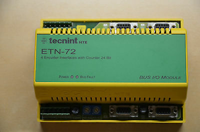 Tecnint HTE  ETN-72 Encoder Interface with Counter 24bit
