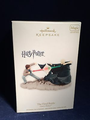 Hallmark Ornament~2012 Harry Potter The Final Battle MIB