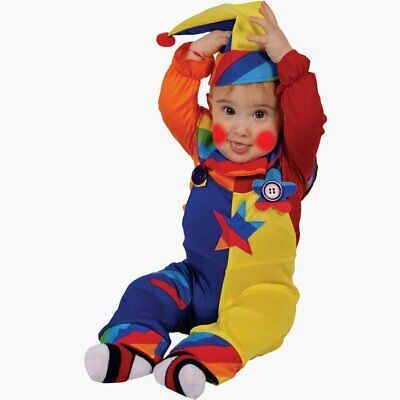 Sweet Cutie Clown Colorful Costume By Dress Up America