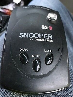 Snooper S5-R With Digital Logic Speed Camera Detection