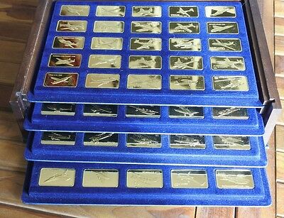 Jane's Medallic World Great Airplanes (Franklin Mint)
