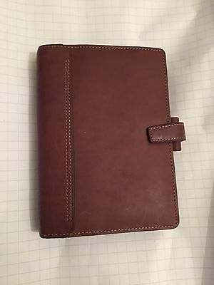 FILOFAX/ORGANISER-KENDAL PERSONAL Size Gorgeous Brown Oiled Leather