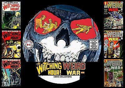 Witching Hour + Weird War Comics On Printed Dvd Rom
