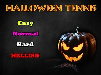 Halloween Tennis - Android App RIGHTS for Sale