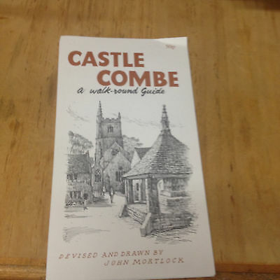 Castle Combe, walk-round Guide Booklet  wiltshire