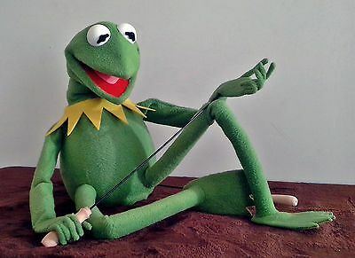 Kermit The Frog Muppet Full Body Life Size Puppet 1:1 Scale Replica