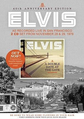 Elvis Collectors CD - Double Date At The Gate - 40th Anniversary Edition (2 CD)