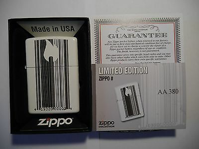 Zippo Bar Code - Rare Limited Edition For Portugal