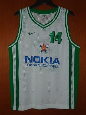 Panathinaikos Nike RADJA #14 ALL STAR GAME MATCH WORN Jersey Shirt Basket Greece