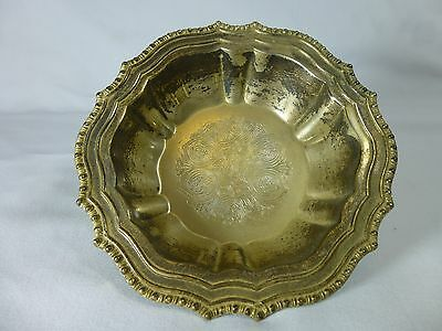 Vintage Avon HUDSON MANOR Silver plated Small Serving Candy Dish Bowl Italy