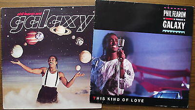 PHIL FEARON & GALAXY - Self Titled/This Kind Of Love - 2 LP Lot (1984/5) ENCL2/4