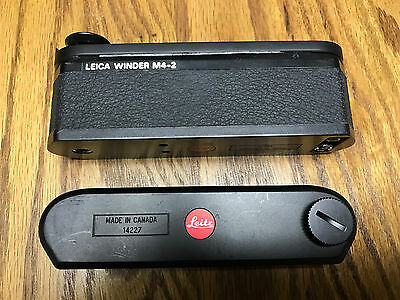 Leica Winder M4-2 very good condition -- only used twice