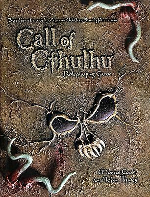 CALL OF CTHULHU - d20 Edition Horror Roleplaying, WotC - 2002 Hcvr Book 1st ed