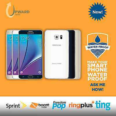 NEW Samsung Galaxy Note 5 (32GB, 64GB) Sprint Boost Ting Flash Wireless