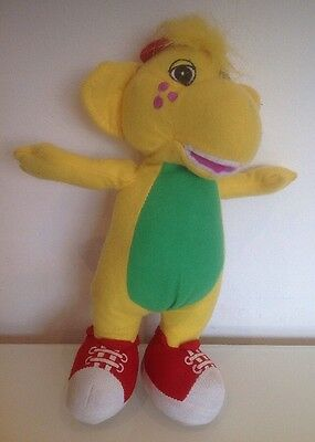 Barney BJ soft toy - approx 11 inches tall - 2007