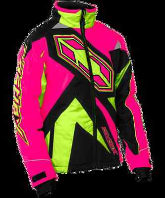 Youth Castle Jacket Launch-G3 SE Girl Pink/HI-Vis