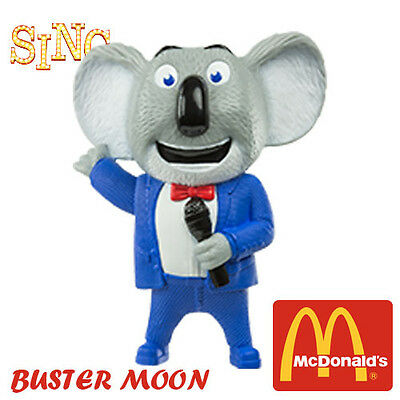 SING MOVIE EUROPE McDonald's Happy Meal Toys 2016 BUSTER MOON
