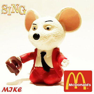 SING MOVIE EUROPE McDonald's Happy Meal Toys 2016 EXCLUSIVE FIGURE MIKE