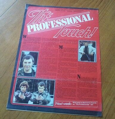 Jackie Magazine Lewis Collins Bodie The Professionals Interview