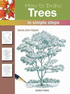 How to Draw Trees by Denis Naylor Paperback Book (English)