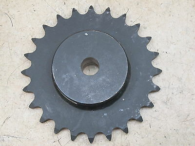 """Sprocket,  80 Pitch,  24 Tooth,  1"""" Straight Bore,  Martin  80B24"""
