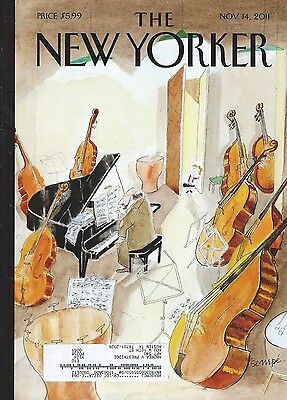 The New Yorker November 2011 Different Scales Steve Jobs Planned Parenthood GOP