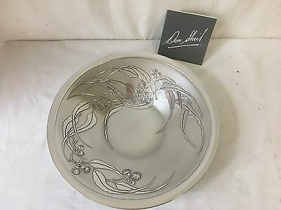 Signed Don Sheil Flowering Gum Leaf Fruit Bowl