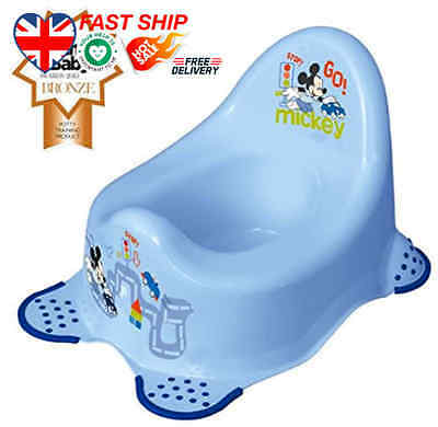 Disney Baby Mickey Mouse Steady Potty with Non Slip Feet FAST Ship UK BUY NOW