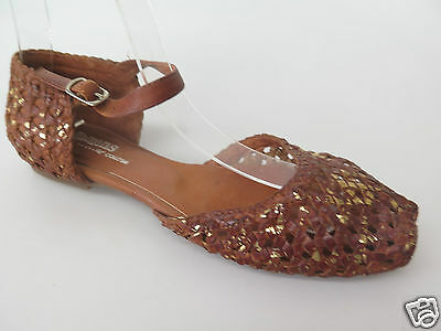 $40 Clearance - Gamins - new ladies leather sandals size 37 / 6.5 #67