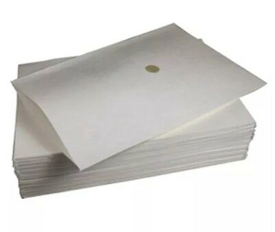 "Royal Paper Filter Envelopes with 1-3/8"" Hole, 18.5"" x 20.5"" Box of 100 FE1820SP"