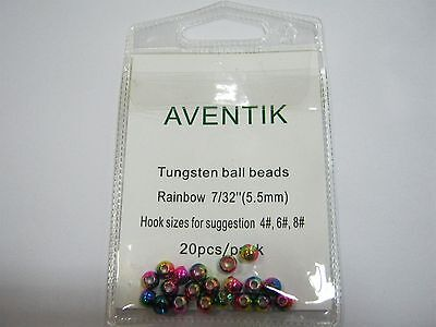 20PCS/Pack Aventik Fly Tying Tungsten Round Ball Beads Craft