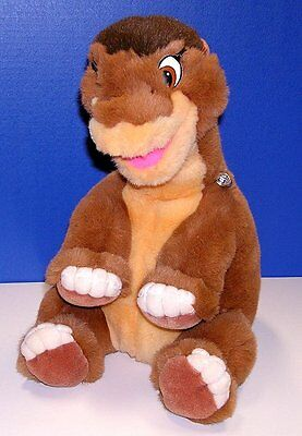 Vintage Land Before Time LITTLEFOOT Plush GUND 1988 16 Inches Tag Attached