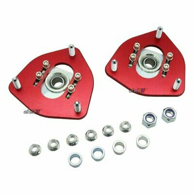 Front Adjustable Top Coilover Camber Plate Mount Fits (Silvia-S13-S14-S15)
