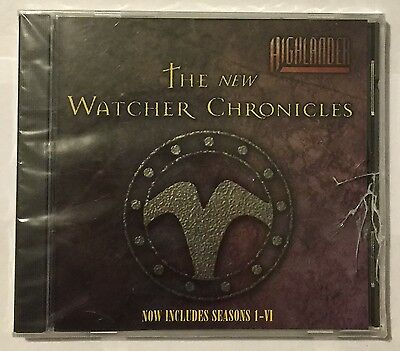 Highlander The New Watcher Chronicles CD-Rom For Macintosh or Windows