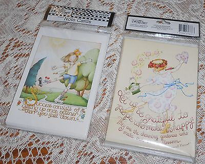 Mary Engelbreit Set Of 2 Note Card Sets