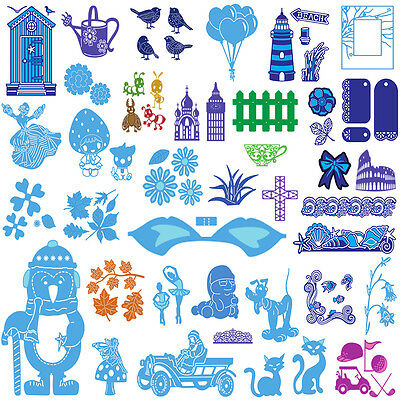 2017 Cutting Dies Scrapbooking Stencils Card Craft Gift Embossing Paper Album