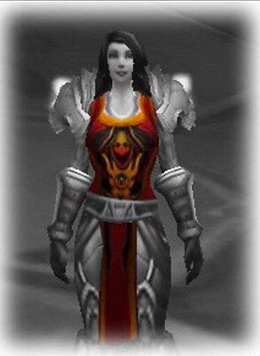 ** TABARD OF THE FLAME - RED ** WORLD OF WARCRAFT LOOT from TCG Landro Longshot