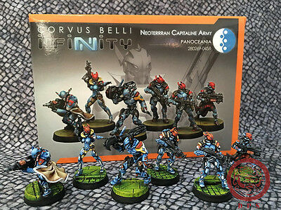 30mm Infinity DPS Painted Neoterran Capitaline Army Sectorial Starter Pack GH095