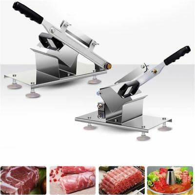 Commercial Household Manual Stainless Steel Mutton Roll Meat Cutter Slicer