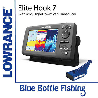 Lowrance Elite Hook-7  Base Mid/High/DownScan