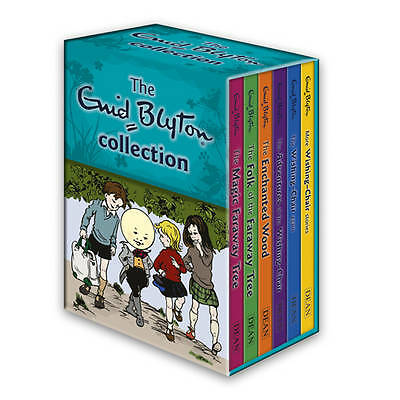 The Enid Blyton Faraway Tree & Wishing-Chair Collection 6 Book Set  New & Sealed