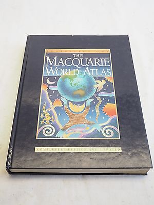 Australia's Own The MacQuarie World Atlas Completely Revised Updated 1984 1996