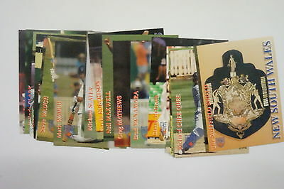 1995/96 Cricket New South Wales Blues set 20 cards