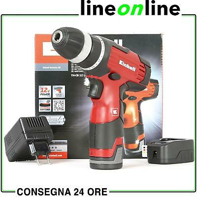Trapano avvitatore Einhell 12V TH-CD 12 Li