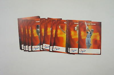2003/04 Cricket New South Wales Blues set 20 cards