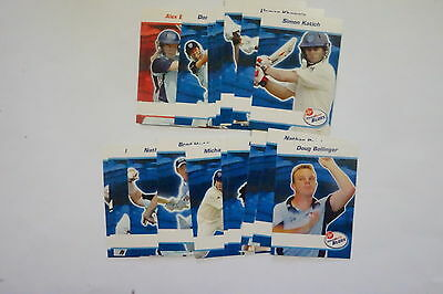 2008/09 Cricket New South Wales Blues set 22 cards