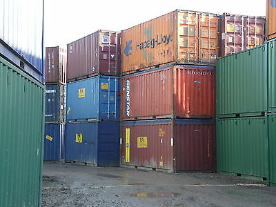 Shipping Containers 20 Ft Used Quality Birmingham Depot Now